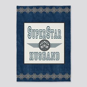 Blanket Blue Jean superstar husband 5'x7'Area Rug