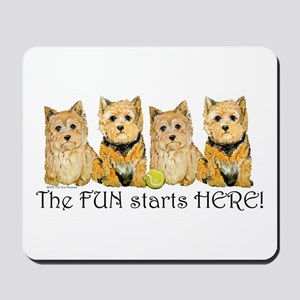 Norwich Terrier Fun Mousepad