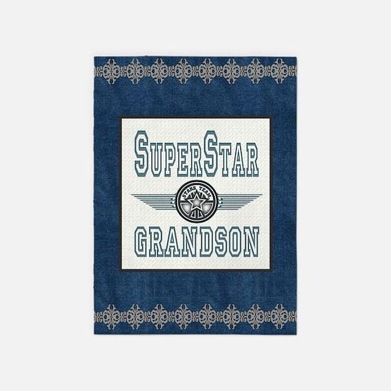 Blanket Blue Jean superstar grandso 5'x7'Area Rug