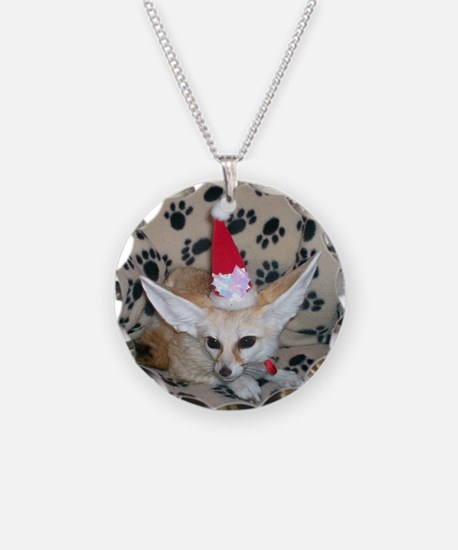 Holiday Fox Necklace