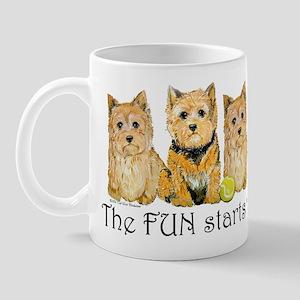 Norwich Terrier Fun Mug