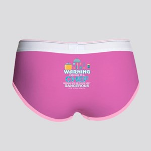 Don't Messing With A Chef T Shir Women's Boy Brief