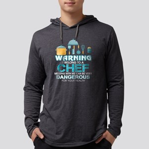 Don't Messing With A Chef T Sh Long Sleeve T-Shirt