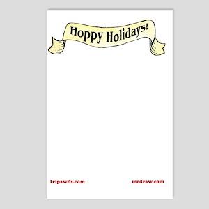 Hoppy Holidays Card Insid Postcards (Package of 8)