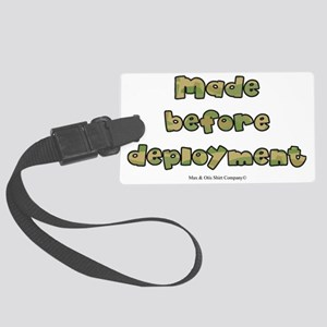 made-before-deployment Large Luggage Tag