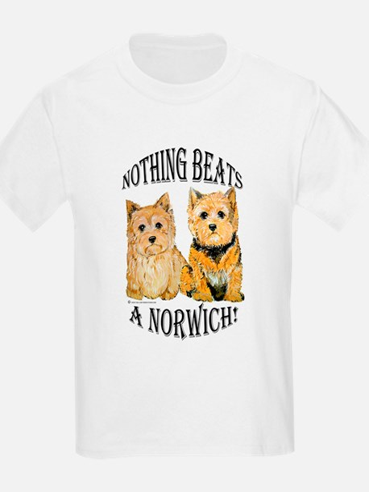 Nothing Beats a Norwich Terri Kids T-Shirt