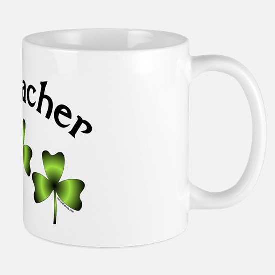 Geocacher 3 Shamrocks Mug