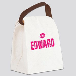 Ed Thing L dk Canvas Lunch Bag
