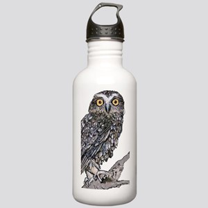 Southern Boobook Owl Stainless Water Bottle 1.0L