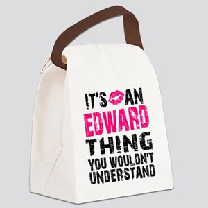 Ed Thing L Canvas Lunch Bag