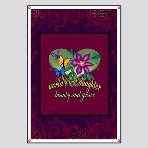Blanket jeweltone daughter Banner