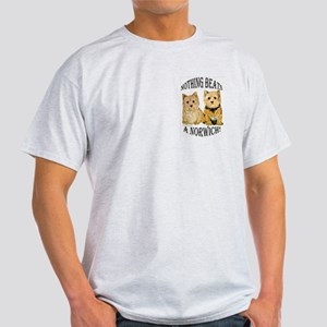 Nothing Beats a Norwich Terri Ash Grey T-Shirt