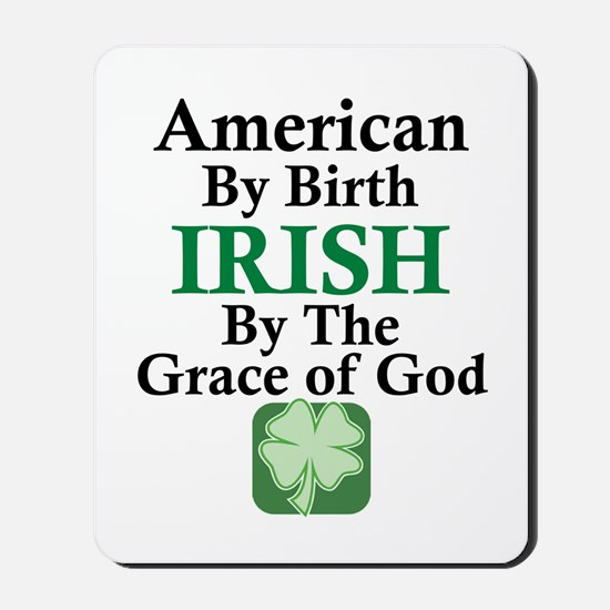 Irish-Grace Of God Mousepad