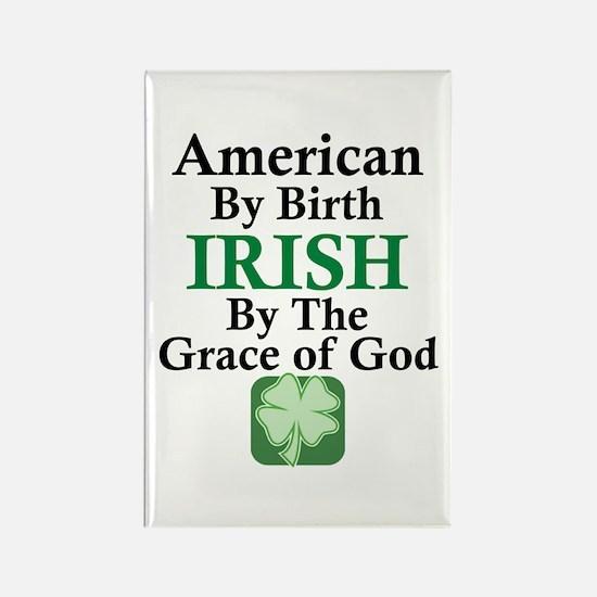 Irish-Grace Of God Rectangle Magnet