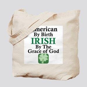 Irish-Grace Of God Tote Bag