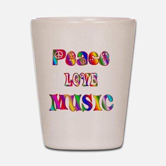 MUSIC Shot Glass