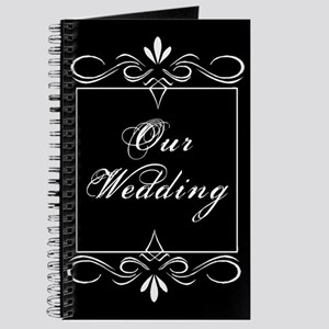 Our Wedding (black) Journal