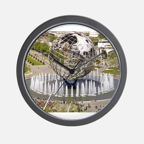 1964 World's Fair/Unisphere Wall Clock