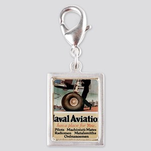 Naval Aviation-200 Silver Portrait Charm