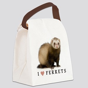ferretiphonecase Canvas Lunch Bag