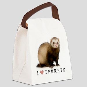 ferretiphonecase Canvas Lunch Bag