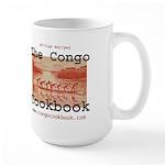 Congo Cookbook Large Mug