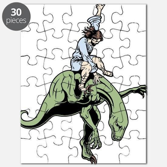 jesus-raptor-col-T Puzzle