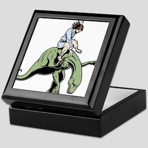 jesus-raptor-col-T Keepsake Box