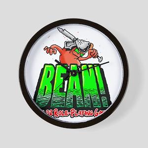 BEAN-Shirt-Looming Wall Clock