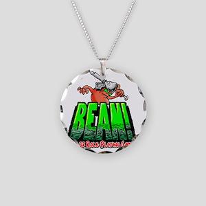 BEAN-Shirt-Looming Necklace Circle Charm