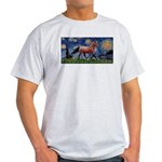 Starry Night Quarterhorse Light T-Shirt