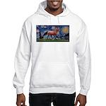Starry Night Quarterhorse Hooded Sweatshirt