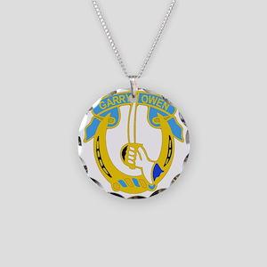 7TH CAV RGT Necklace Circle Charm