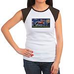 Starry Night Quarterhorse Women's Cap Sleeve T-Shi