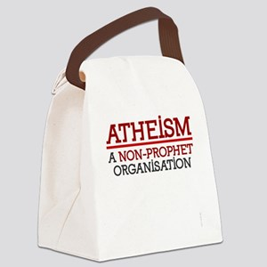 Atheism shirts - non-prophet orga Canvas Lunch Bag