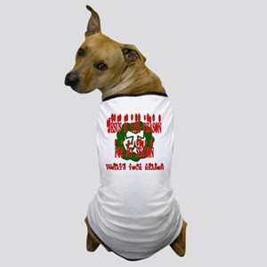jesus_reason_season_wreath_tee Dog T-Shirt