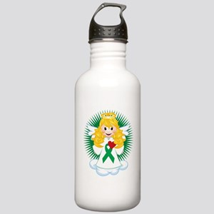 Angel-Watching-Over-Me Stainless Water Bottle 1.0L