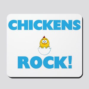 Chickens rock! Mousepad