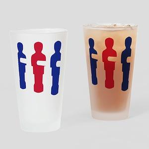 football_table_menblue Drinking Glass