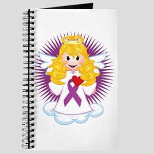 Angel-Watching-Over-Me-Purple-Ribbon-blk Journal