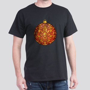 GoldLeafOrnamentTR Dark T-Shirt