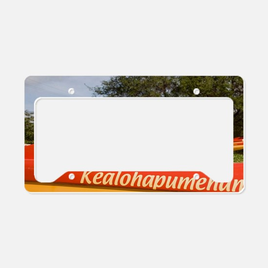 Outrigger Canoes, Mai Poina O License Plate Holder