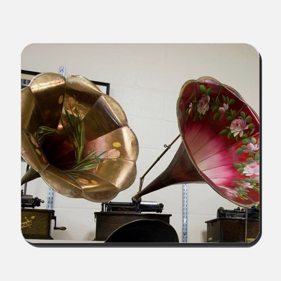 Early Edison Phonographs: Edison Estate  Mousepad