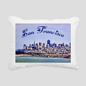 sanfrancisco_9.5x8 Rectangular Canvas Pillow