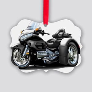 Goldwing GL1800 Black Trike Picture Ornament