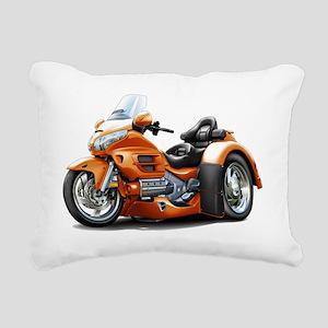 Goldwing GL1800 Orange T Rectangular Canvas Pillow