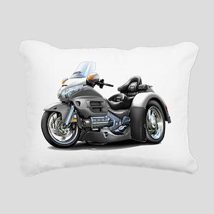 Goldwing GL1800 Grey Tri Rectangular Canvas Pillow