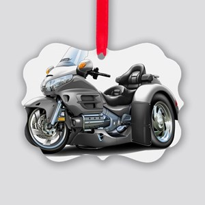 Goldwing GL1800 Grey Trike Picture Ornament