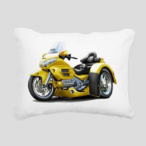 Goldwing GL1800 Yellow T Rectangular Canvas Pillow