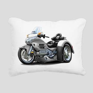 Goldwing GL1800 Silver T Rectangular Canvas Pillow